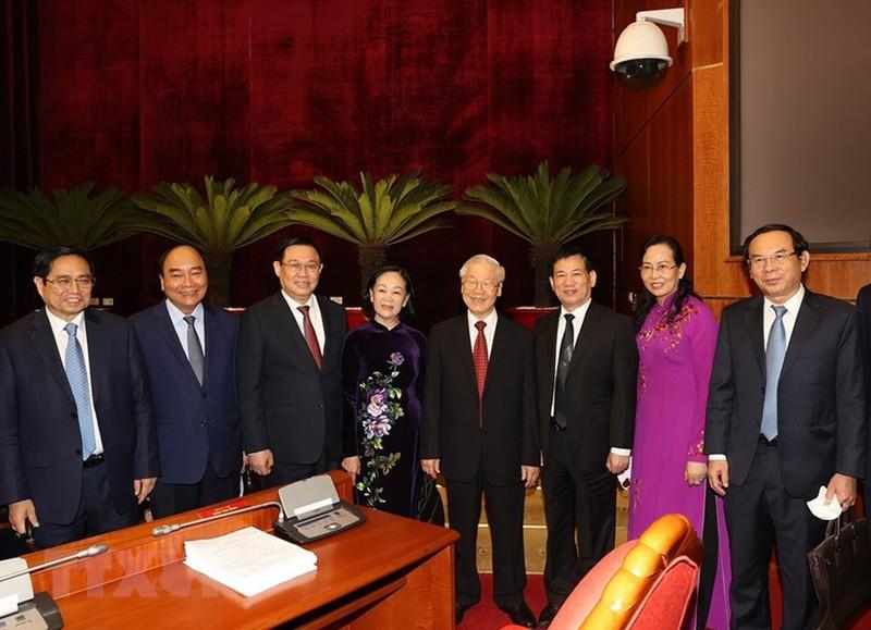 Toàn văn phát biểu bế mạc Hội nghị Trung ương 4 của Tổng Bí thư Nguyễn Phú Trọng - ảnh 2