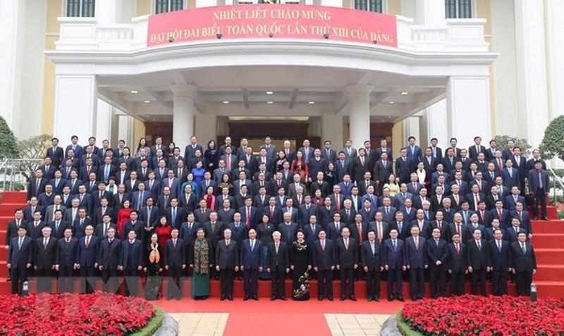 Chùm ảnh lãnh đạo Đảng, Nhà nước dự Hội nghị Trung ương 15 - ảnh 9