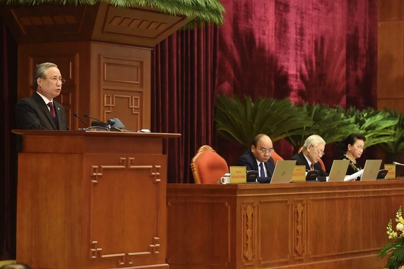 Chùm ảnh lãnh đạo Đảng, Nhà nước dự Hội nghị Trung ương 15 - ảnh 4