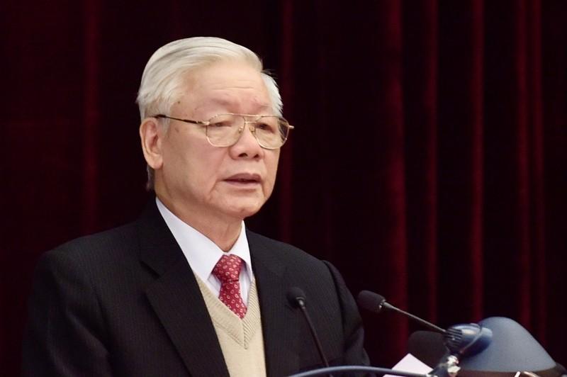 Chùm ảnh lãnh đạo Đảng, Nhà nước dự Hội nghị Trung ương 15 - ảnh 2