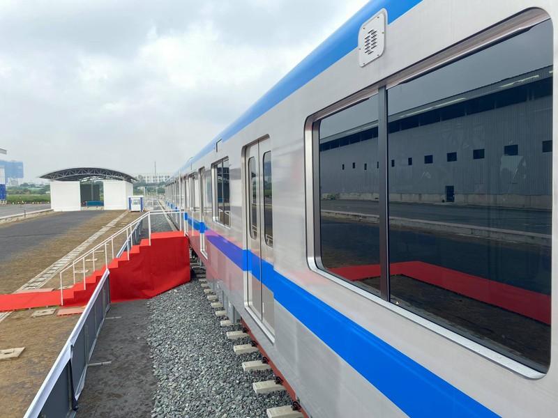 TP.HCM tổ chức lễ đón đoàn tàu metro số 1 đầu tiên - ảnh 4