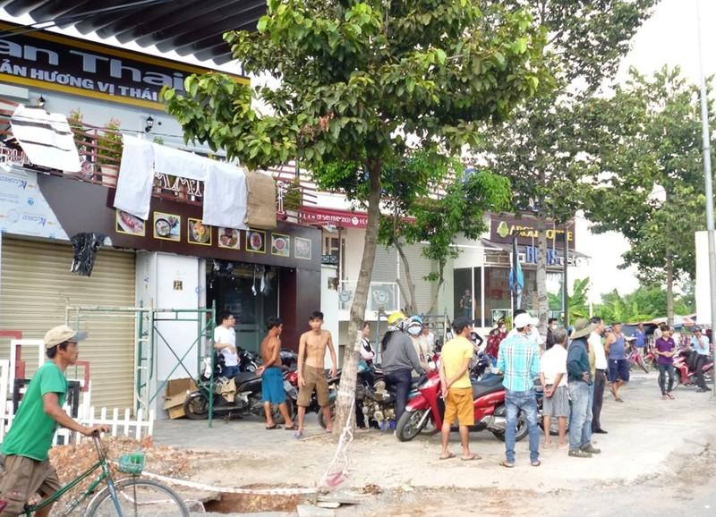 Nam công nhân bị điện giật tử vong tại nhà hàng đặc sản  - ảnh 1