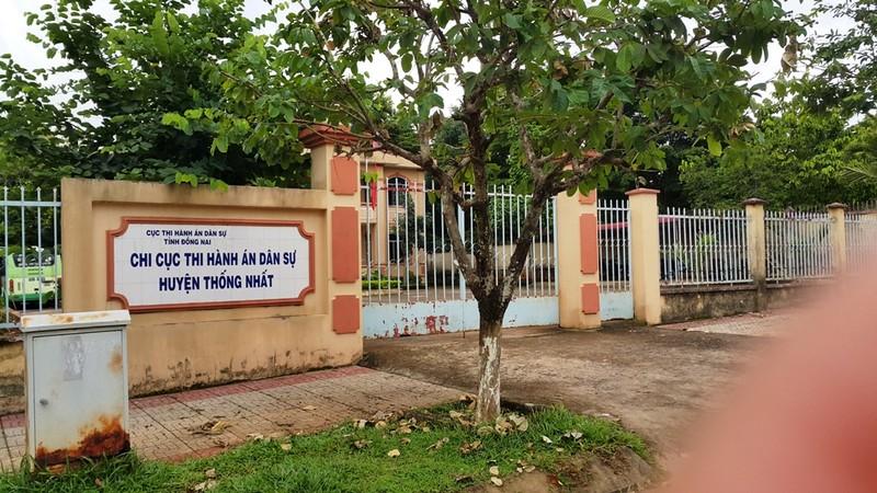 Đồng Nai: Nguyên chi cục trưởng thi hành án bị khởi tố - ảnh 1