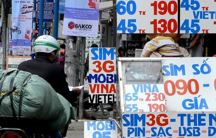 5 nhà mạng cam kết sẽ 'xử' đại lý bán SIM rác  - ảnh 1