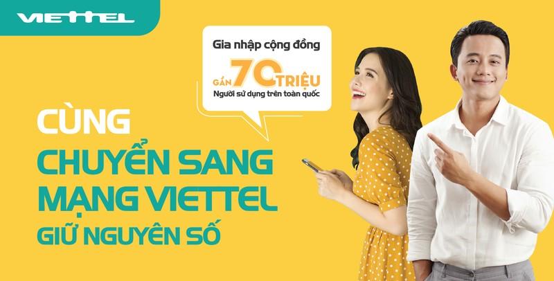 Viettel cung cấp dịch vụ chuyển mạng giữ số - ảnh 2
