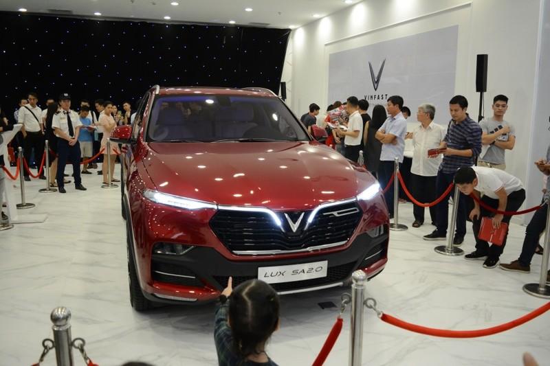 Đội mưa mua xe tại lễ ra mắt và mở bán xe VinFast tại TP. HCM - ảnh 5