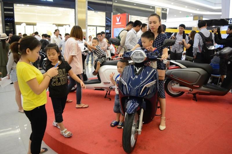 Đội mưa mua xe tại lễ ra mắt và mở bán xe VinFast tại TP. HCM - ảnh 9