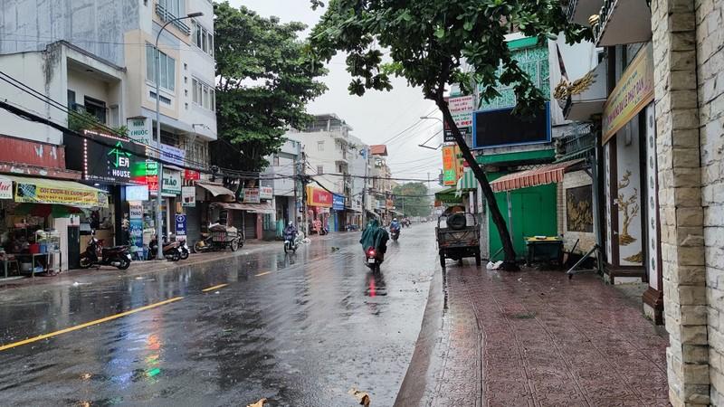 Nhiều nơi ở Nam bộ xuất hiện mưa từ sáng sớm - ảnh 1