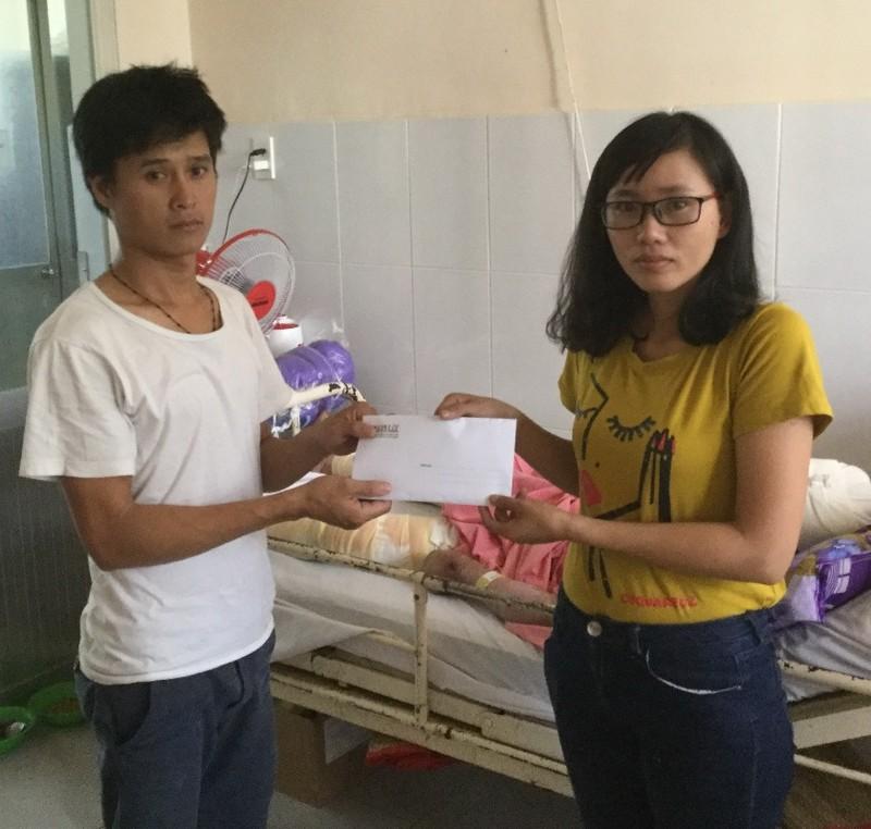 Hỗ trợ tiếp hơn 30 triệu giúp anh Thanh ghép da - ảnh 1