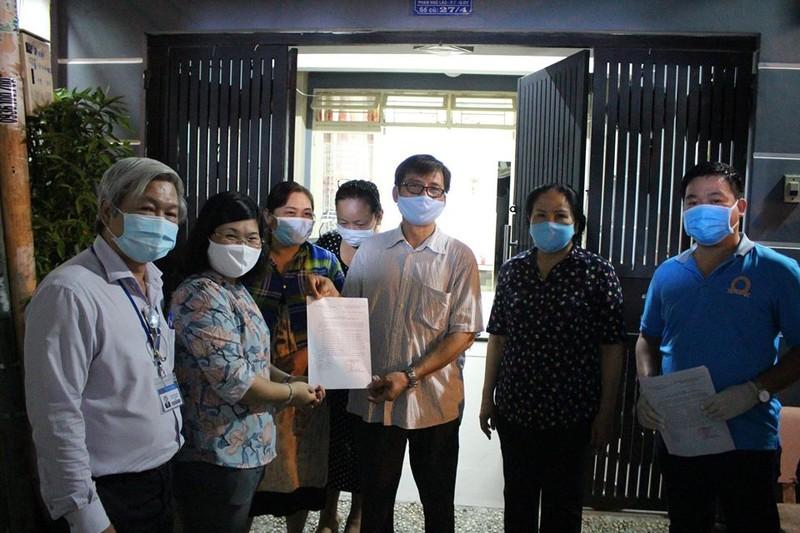16 hộ dân ở hẻm 248 quận Gò Vấp đã hết thời hạn cách ly - ảnh 1