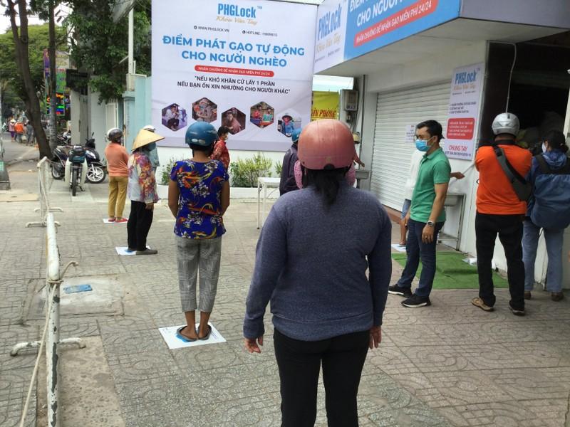 Sắp có máy phát gạo tự động thứ 2, đặt tại xã Vĩnh Lộc B  - ảnh 1