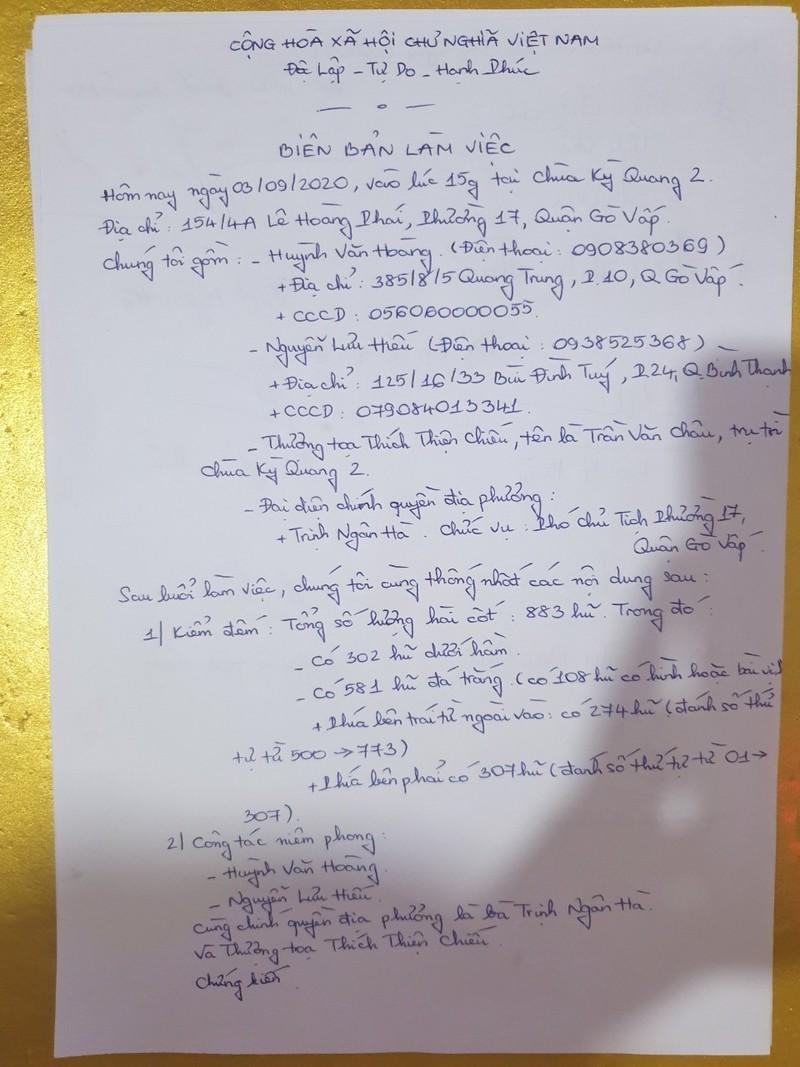 Gần 900 hũ tro cốt được gửi tại chùa Kỳ Quang 2  - ảnh 2