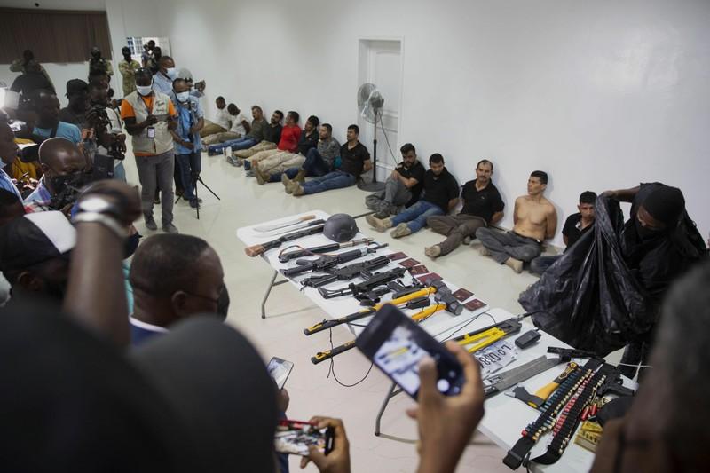 Lầu Năm Góc: 7 nghi phạm vụ ám sát Tổng thống Haiti từng được Mỹ huấn luyện - ảnh 1