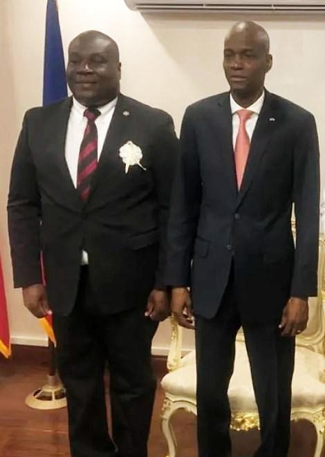 Trưởng bộ phận an ninh tổng thống Haiti bị bắt nghi dính líu vụ giết ông Moise - ảnh 1