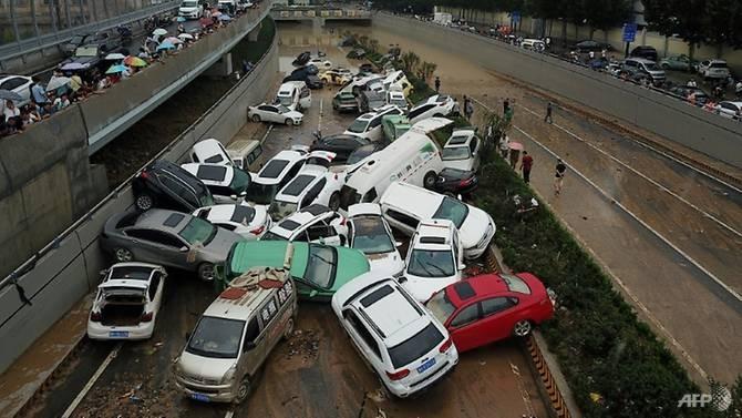 Nhà báo nước ngoài bị ngăn cản đưa hình ảnh mưa lũ ở Trung Quốc - ảnh 3
