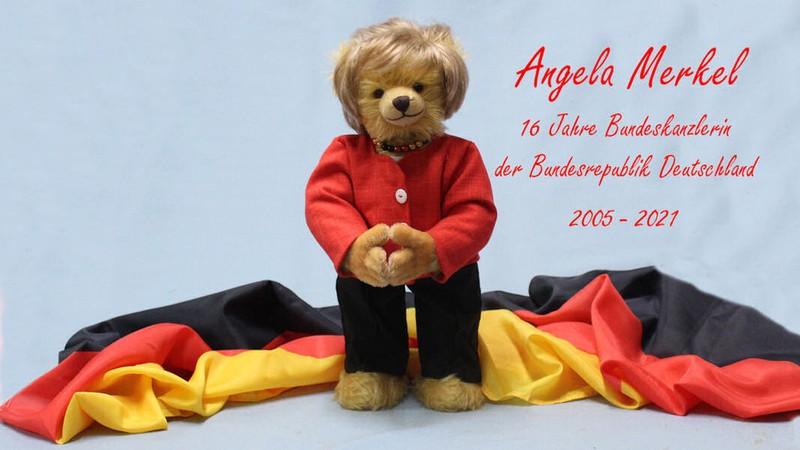 Công ty đồ chơi Đức sản xuất gấu bông dành riêng cho Thủ tướng Merkel - ảnh 5