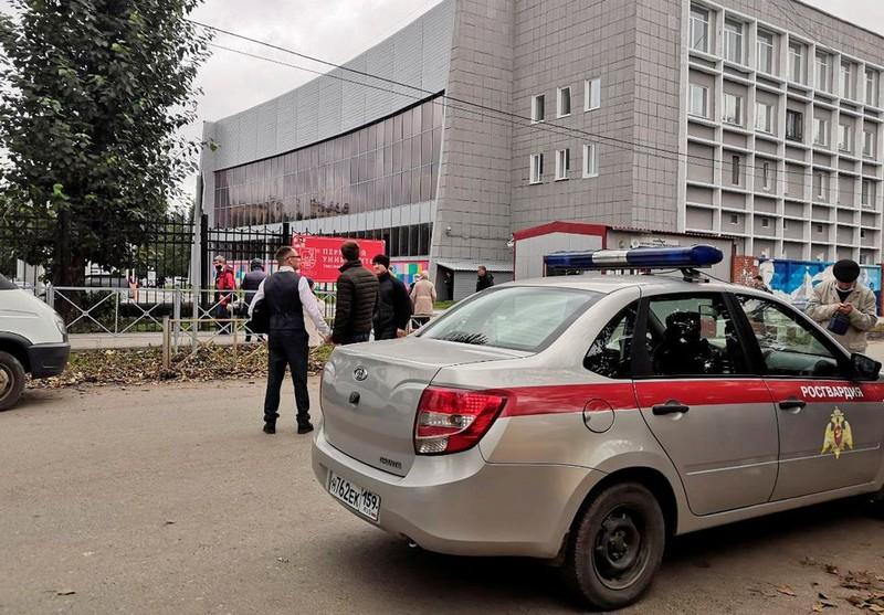 Xả súng ở trường đại học tại Nga, ít nhất 6 người chết - ảnh 1