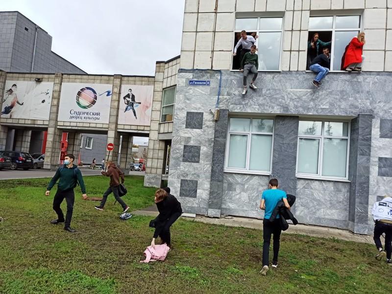 Xả súng ở trường ĐH Nga: Tay súng đăng tải kế hoạch chi tiết trên mạng xã hội - ảnh 2