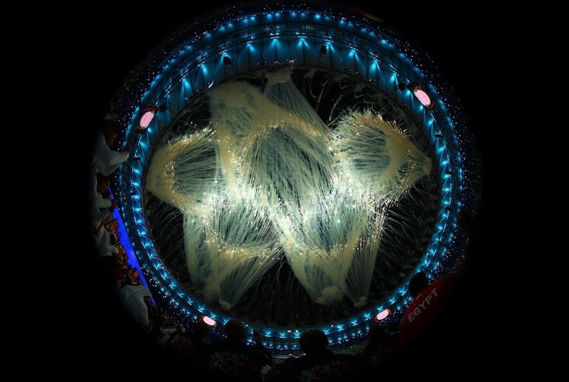 Chùm ảnh: Lễ khai mạc Olympic Rio diễn ra hoành tráng - ảnh 1
