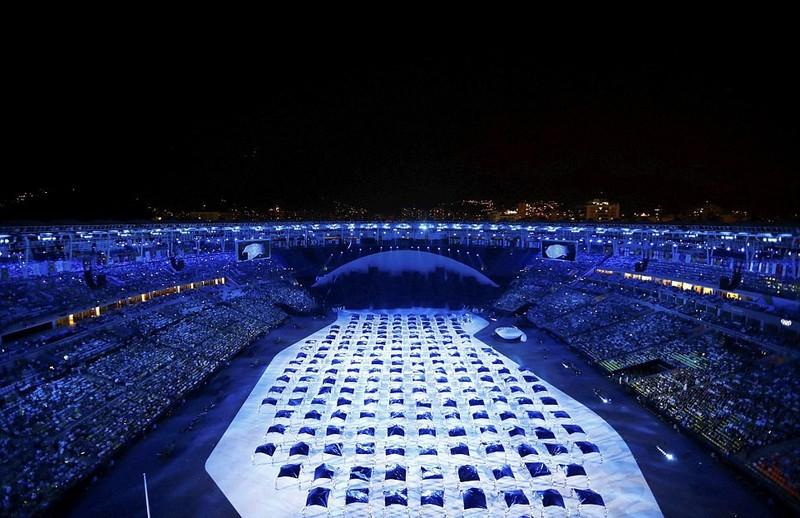 Chùm ảnh: Lễ khai mạc Olympic Rio diễn ra hoành tráng - ảnh 9
