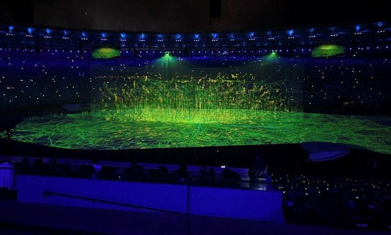 Chùm ảnh: Lễ khai mạc Olympic Rio diễn ra hoành tráng - ảnh 12