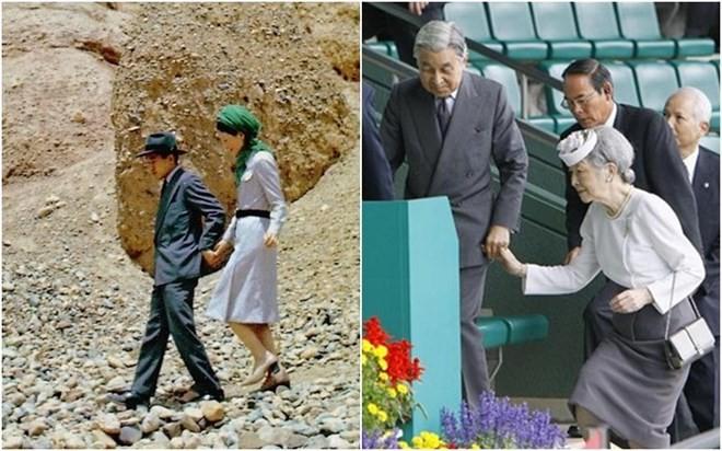 Nhà vua và hoàng hậu Nhật:60 năm nhìn lại 1 chuyện tình - ảnh 9