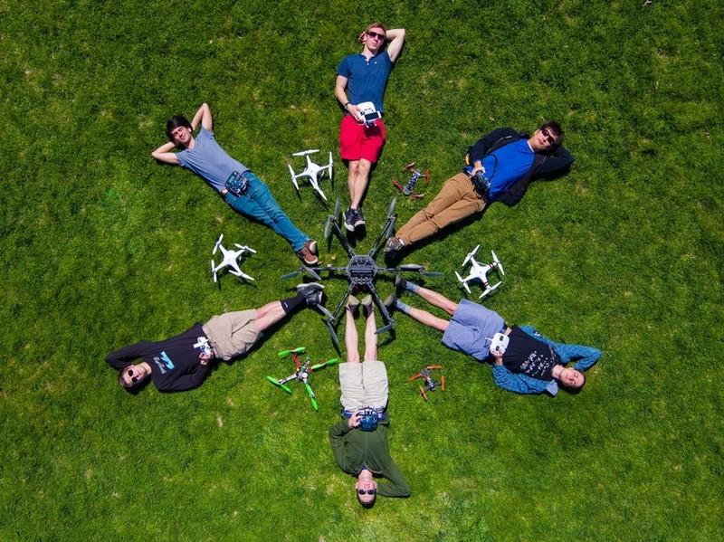 Thế giới sống động qua những bức ảnh chụp từ flycam - ảnh 9