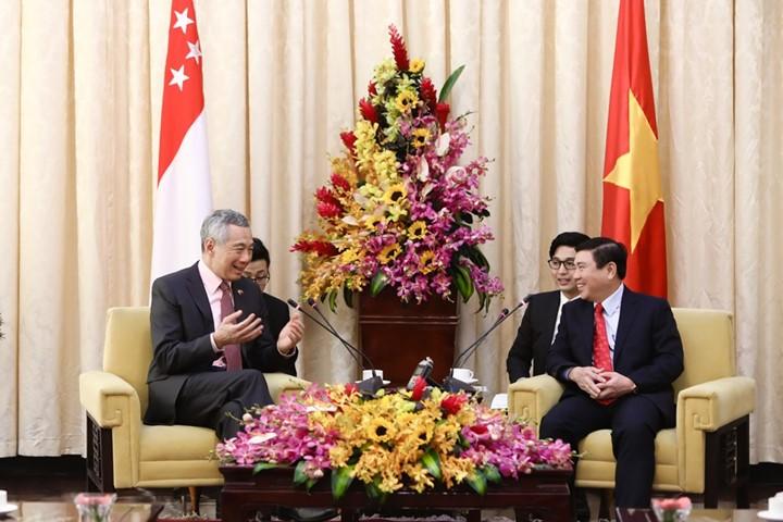 Thủ tướng Singapore vui mừng sau 10 năm trở lại TP.HCM - ảnh 12