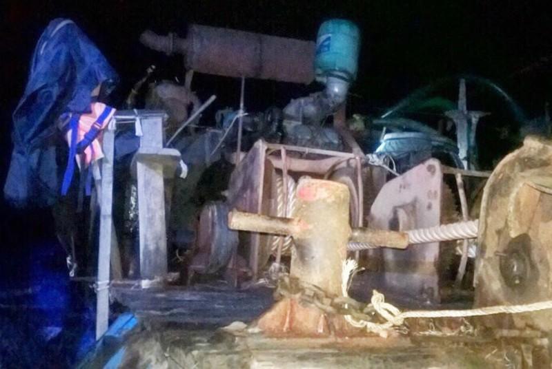 Camera hồng ngoại bắt 'cát tặc' trên sông Đồng Nai - ảnh 2