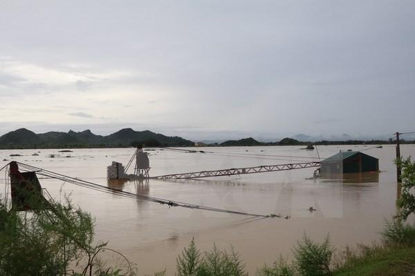 Chùm ảnh: Mưa lũ kinh hoàng ở các tỉnh miền Bắc - ảnh 10