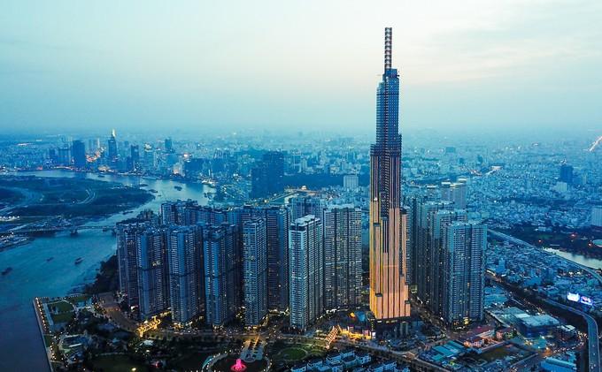 Góc nhìn TP.HCM từ đỉnh tòa nhà cao nhất Việt Nam - ảnh 12