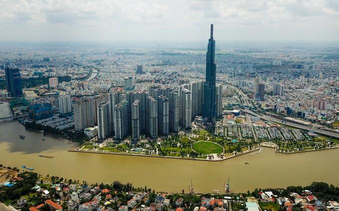 Góc nhìn TP.HCM từ đỉnh tòa nhà cao nhất Việt Nam - ảnh 1