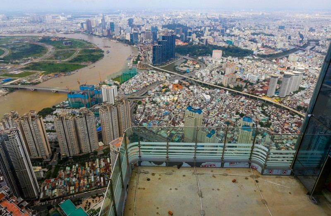 Góc nhìn TP.HCM từ đỉnh tòa nhà cao nhất Việt Nam - ảnh 2