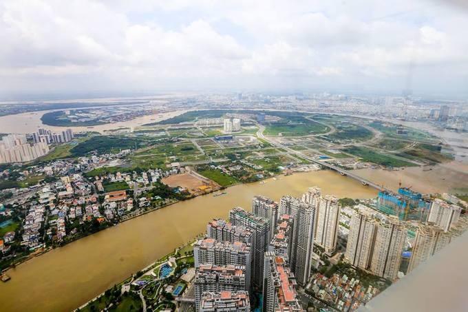 Góc nhìn TP.HCM từ đỉnh tòa nhà cao nhất Việt Nam - ảnh 3