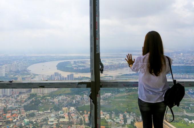 Góc nhìn TP.HCM từ đỉnh tòa nhà cao nhất Việt Nam - ảnh 4