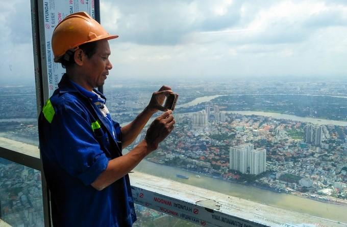 Góc nhìn TP.HCM từ đỉnh tòa nhà cao nhất Việt Nam - ảnh 7
