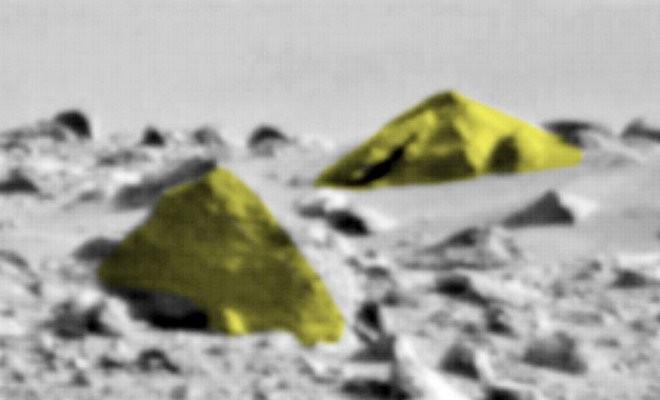 Tìm thấy 'kim tự tháp của người ngoài hành tinh' trên sao Hỏa - ảnh 1