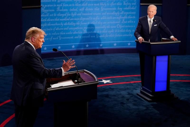 Video: Trực tiếp tranh luận Trump-Biden - ảnh 6