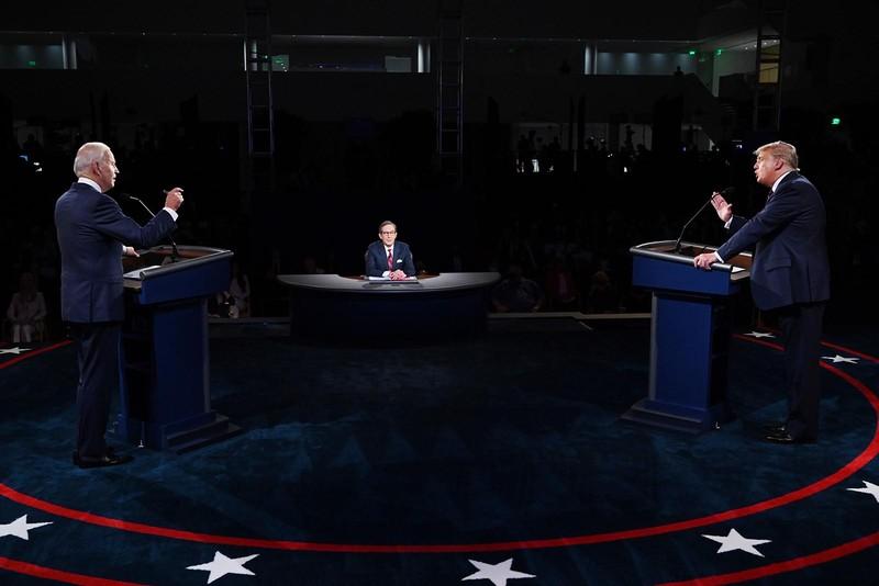 Video: Trực tiếp tranh luận Trump-Biden - ảnh 3
