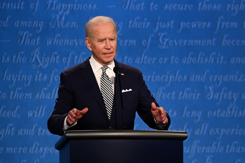 Video: Trực tiếp tranh luận Trump-Biden - ảnh 10