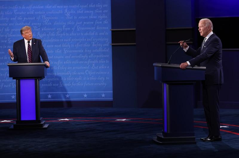 Video: Trực tiếp tranh luận Trump-Biden - ảnh 9