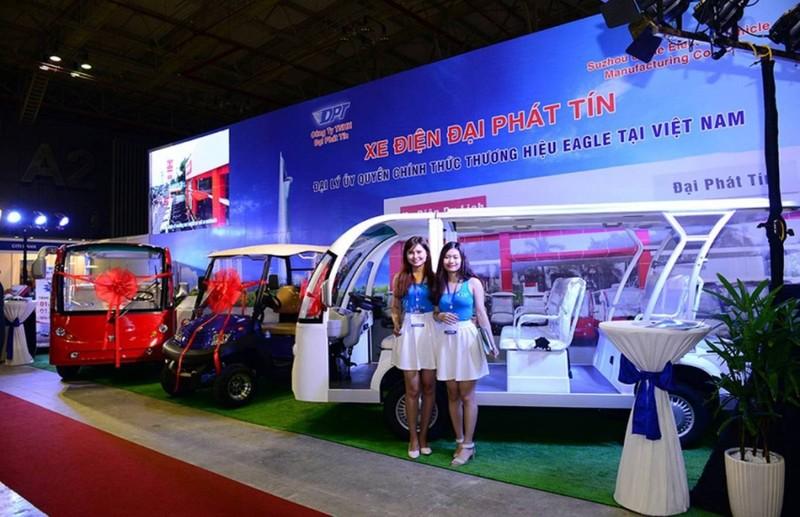 Ô tô điện 'made in' Việt Nam hút khách tại triển lãm quốc tế  - ảnh 4