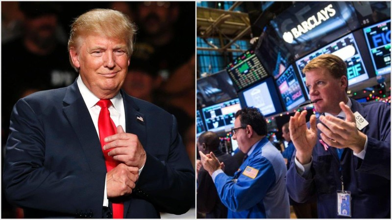 Ông Trump chỉ viết vài dòng, cả thị trường chao đảo  - ảnh 1