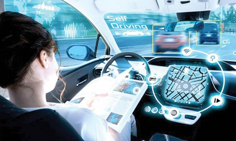 Xe hơi đang trở thành một ngôi nhà ảo - ảnh 1