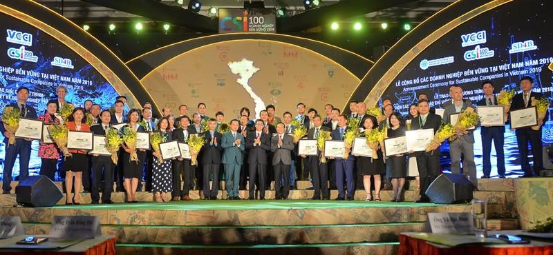 Top 100 doanh nghiệp phát triển bền vững - ảnh 1