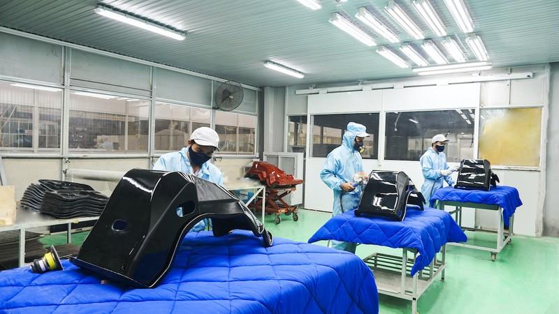 Việt Nam xuất khẩu khung ghế xe đua composite sang Nhật Bản - ảnh 1