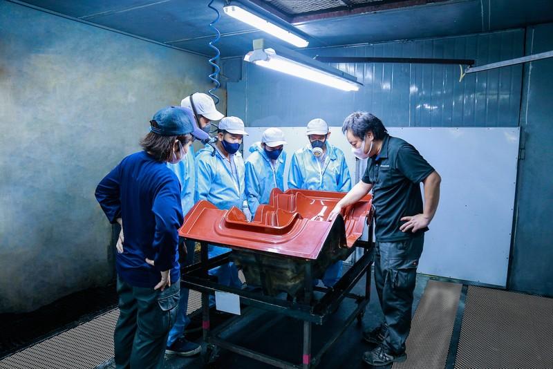 Việt Nam xuất khẩu khung ghế xe đua composite sang Nhật Bản - ảnh 2