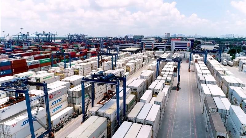 Hơn 100.000 container bị 'mắc kẹt' tại cảng Cát Lái  - ảnh 1