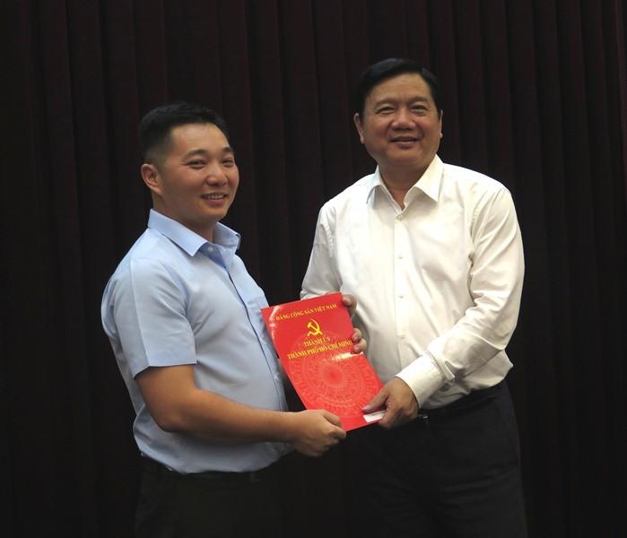 Ông Lê Trương Hải Hiếu được chỉ định vào BCH Đảng bộ TP.HCM - ảnh 1