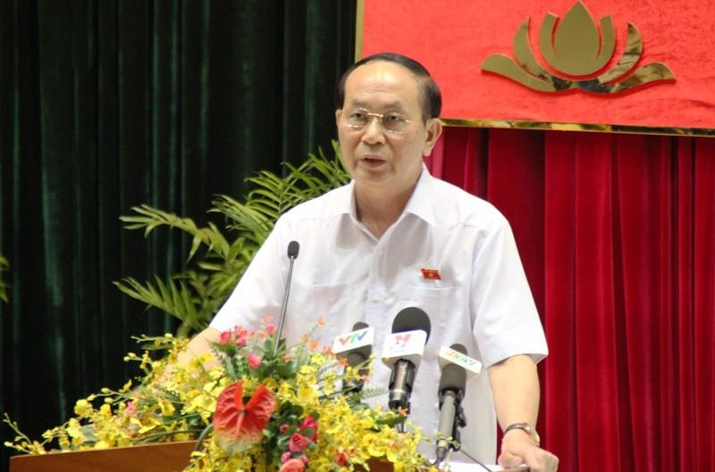 Chủ tịch nước Trần Đại Quang nói về tinh gọn bộ máy  - ảnh 1